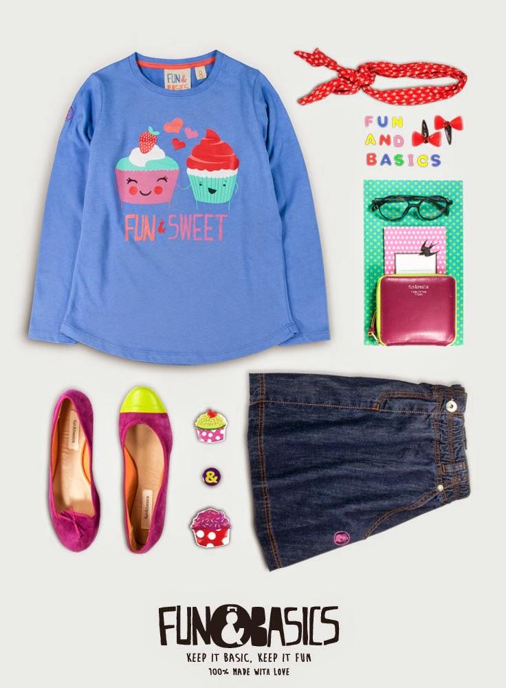 FUN & BASICS KIDS #modaniña #pequeñafashionista