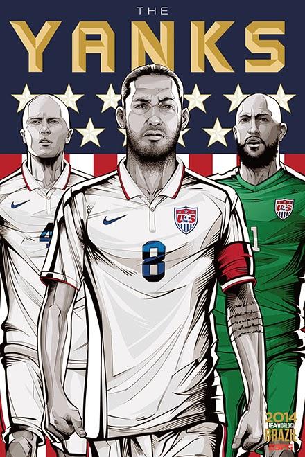Poster keren world cup 2014 - Amerika