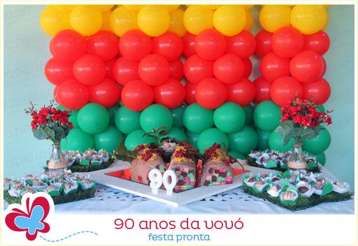 Papelier Papelaria Criativa Os 90 Anos Da Vovó A Festa Pronta