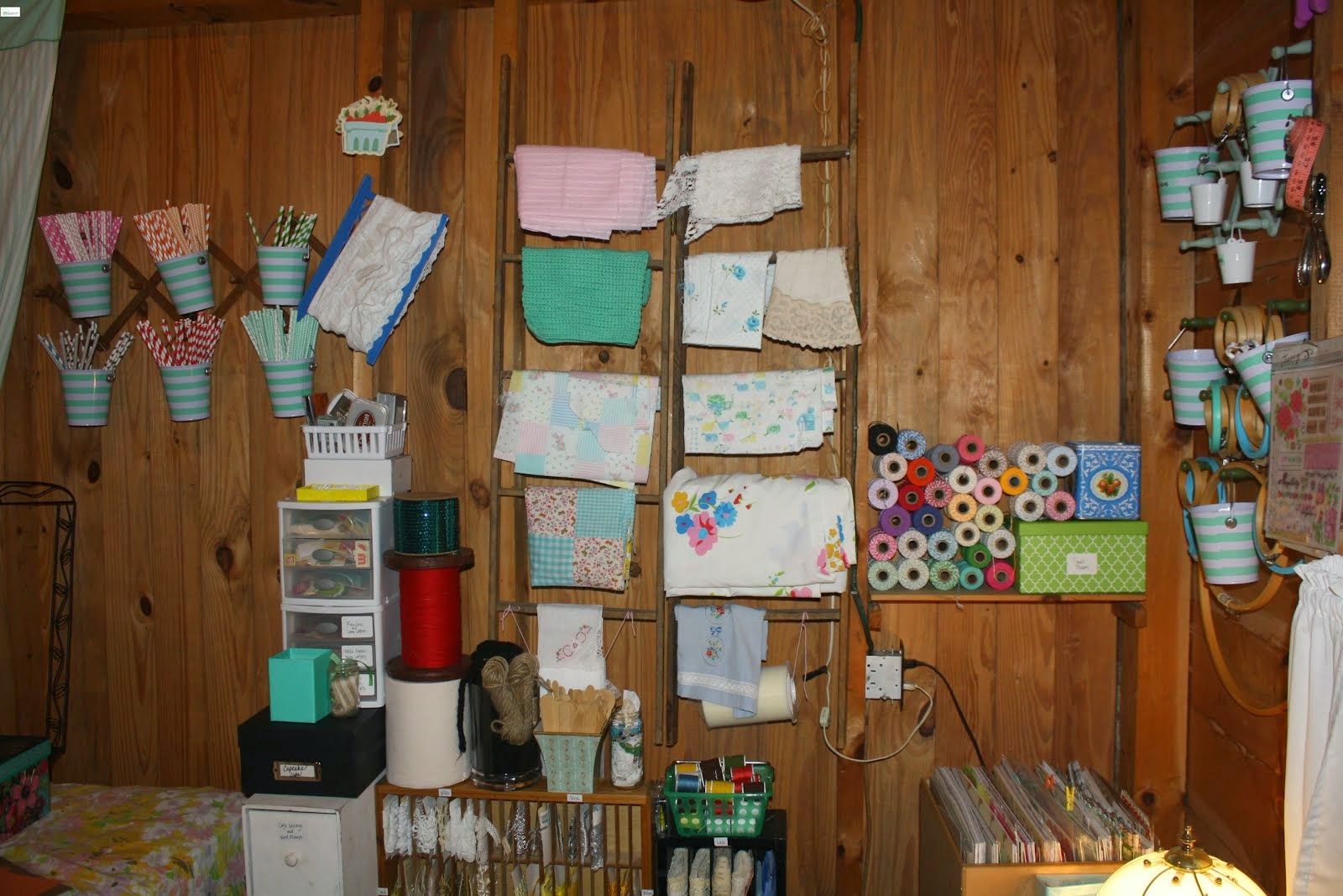 CRAFT ROOM AT THE CABIN