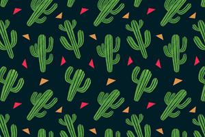 Cactus Fiesta Pattern by Haidi Shabrina