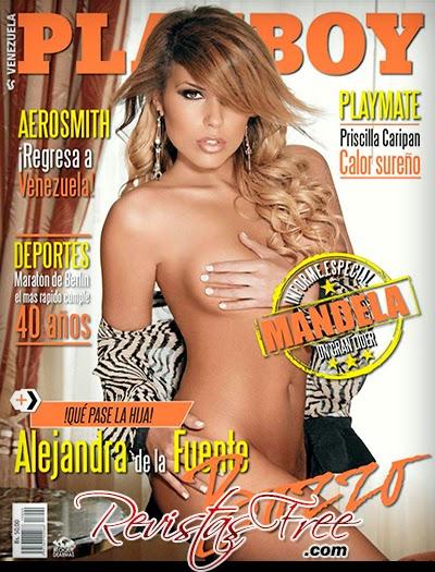 Playboy Venezuela - Alejandra de la Fuente - Setembro 2013