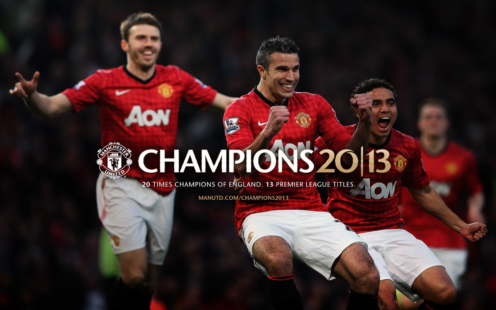 Kuala Lumpur Manchester United Champions 2013 Barclays Premier League