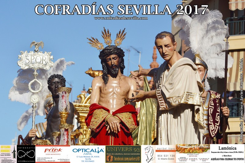 Cartel Cofradías Sevilla 2017