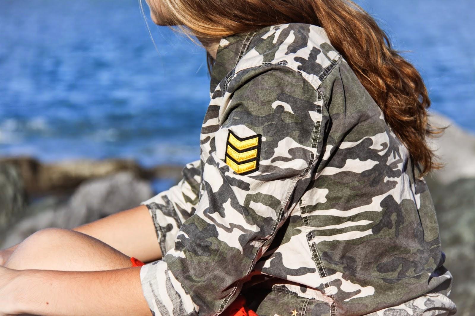 bteam by bensimon,bensimon, bensimon hossegor, army,camouflage,surplus,broderie anglaise,guéthary