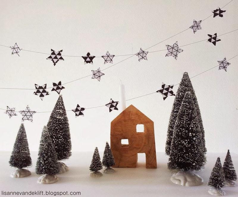 cómo hacer un árbol de Navidad minimalista
