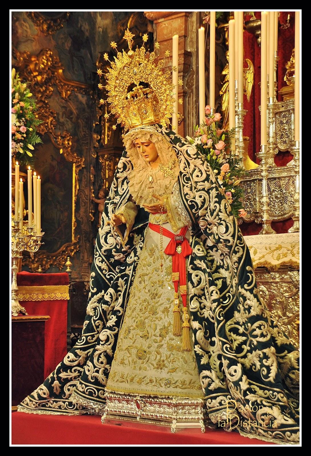Besamanos en La Candelaria Sevilla 2015