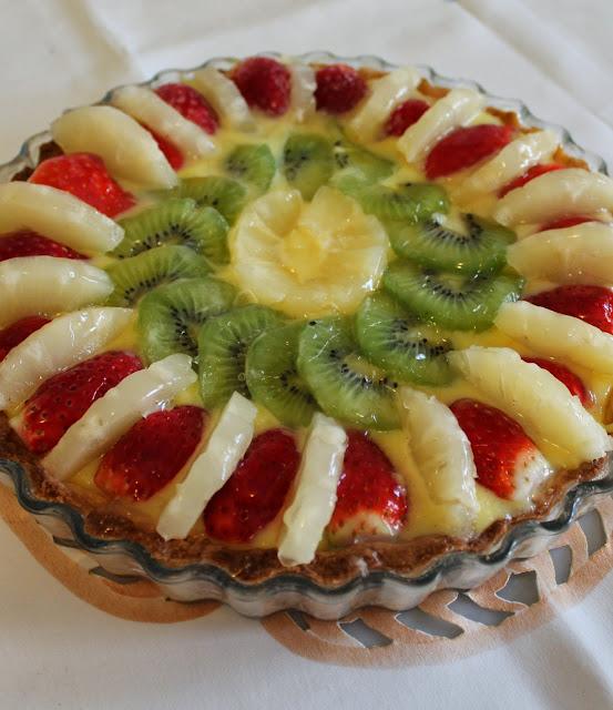 compleanno e crostata alla frutta!
