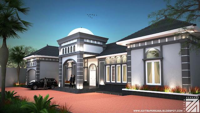 rumah mediterania mr eko aditra perkasa architect