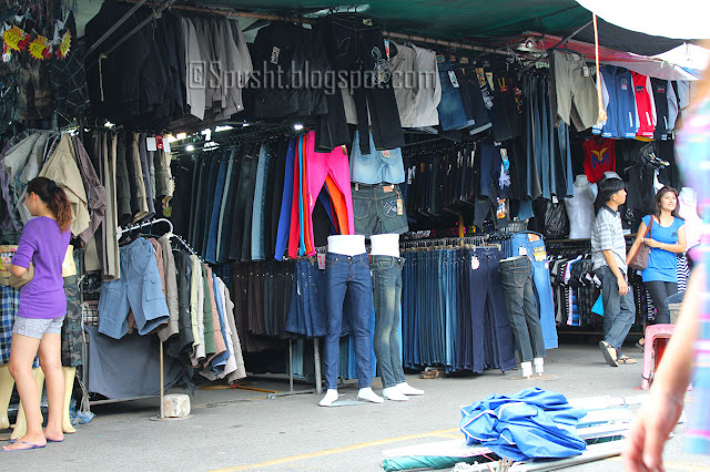 Spusht | Clothes shopping at Chatuchak