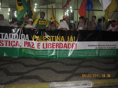 Ato histórico em São Paulo pelo Estado da Palestina Já - foto 37