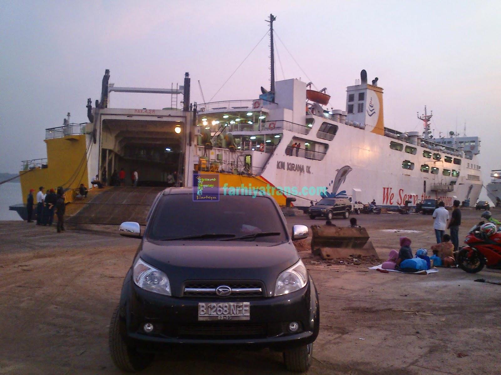 Pengiriman Mobil Daihatsu Terios tujuan Surabaya-Batulicin dengan Kapal Roro