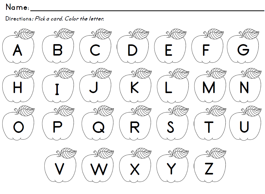 Free Worksheet Kindergarten Letter Recognition Worksheets letter recognition activities identification ot activity click to download apple recognition
