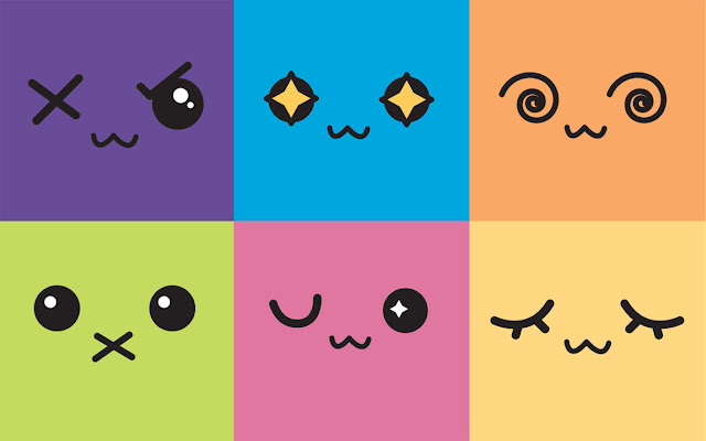 Kawaii Faces - Caras Kawaii