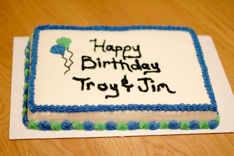 A Happy Birthday Sheet Cake Forgive The Picturesnight Time In My House Equals Poor Picture Quality Photoshop Helps Tad