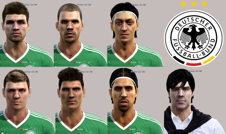 PES 2012 Germany Facepack by locoloco