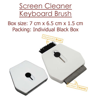 "CENTRUM LINK - ""Screen Cleaner / Keyboard Brush"""