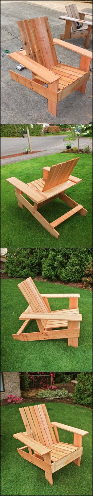 How to Build Your Own Adirondack chairs
