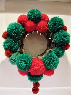 Coronas de Navidad con Lana Reutilizada, I Parte