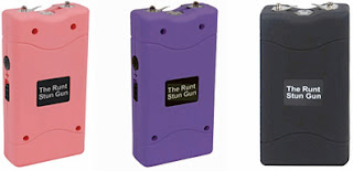 Non lethal self defense weapon called the Runt 10 Million Volt Stun Gun, is affordable and packed with features.