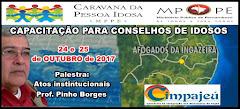 24 E 25.10.2017 - CAPACITAÇÃO PARA CONSELHOS DE IDOSOS
