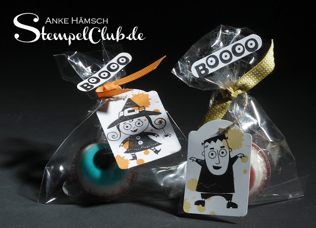 Halloweeen-Goodies mit Stampin' Up! Googly Ghouls