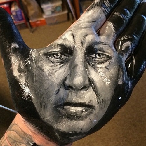 27-Russell-Powell-Hand-Body-Painting-Transferred-to-Paper-www-designstack-co