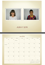 NUESTRO CALENDARIO 2.014