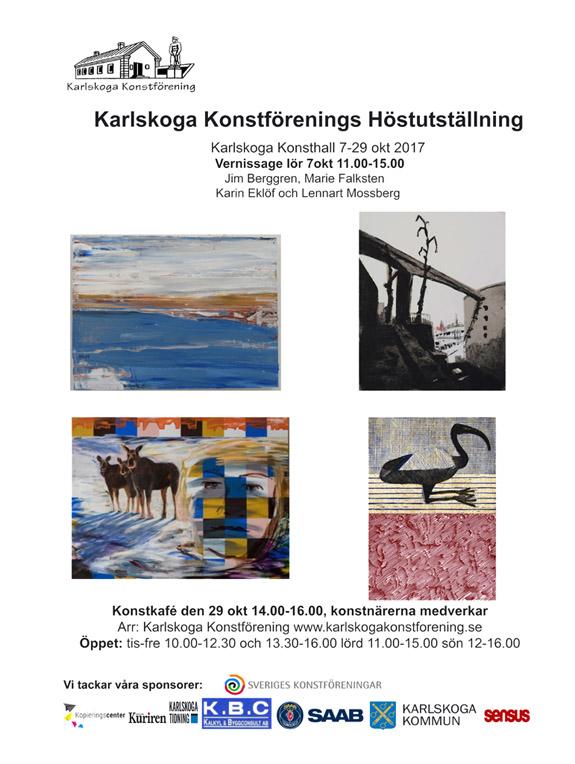 Karlskoga Konsthall Oktober 2017