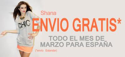 SHANA.COM ENVIO GRATIS MARZO 2013
