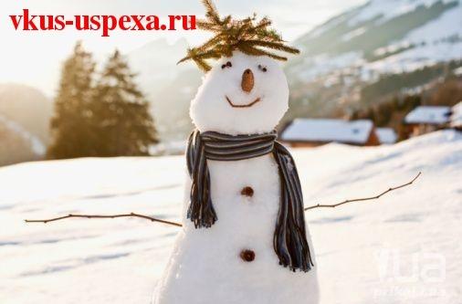 Как подготовить себя и свое здоровье к холодам, Снежная баба, Подготовить иммунитет к зиме