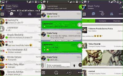 BBM Mod Terbaru BBM Tema Line v5 based BBM v2.8.0.21