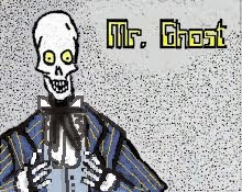 Mr. Ghost has a page on Facebook!