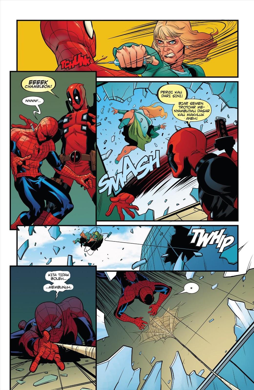 Marvel Deadpool Ausmalbilder Gratis: Baca Komik Marvel Gratis : Deadpool Annual