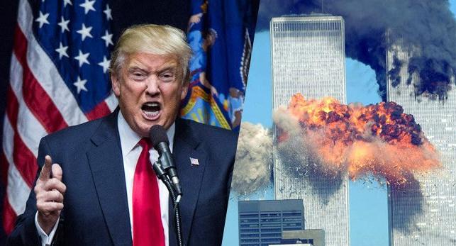 ΓΙΑ ΝΑ ΞΕΡΕΤΕ ΠΩΣ ΜΙΛΑΝΕ ΟΙ ΜΗ ΔΙΚΟΙ ΤΟΥΣ (ΠΛΗΡΩΣ ΕΛΕΓΧΝΟΜΕΝΑ ΑΝΘΡΩΠΟΕΙΔΉ): Τραμπ για 11η Σεπτεμβρίου: Οι Δίδυμοι Πύργοι έπεσαν από βόμβες!