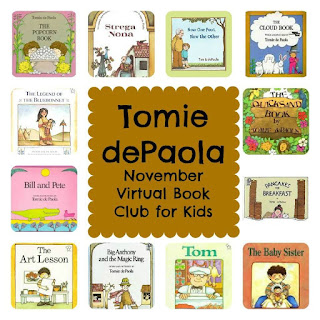 Tomie dePaola, children's authors, books for children, author study, books by Tomie dePaola image