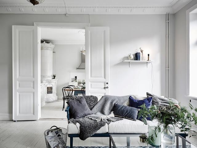 Apartamento de estilo escandinavo con una cocina increíble chicanddeco