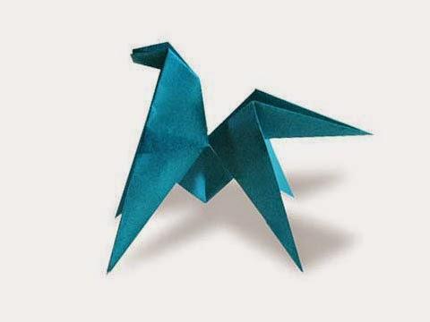 Hướng dẫn cách gấp con Ngựa con biết nhào lộn bằng giấy đơn giản - Xếp hình Origami với Video clip - How to make a Runt Pony