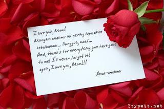 Jendela Indonesia Contoh Surat Cinta Untuk Kekasih
