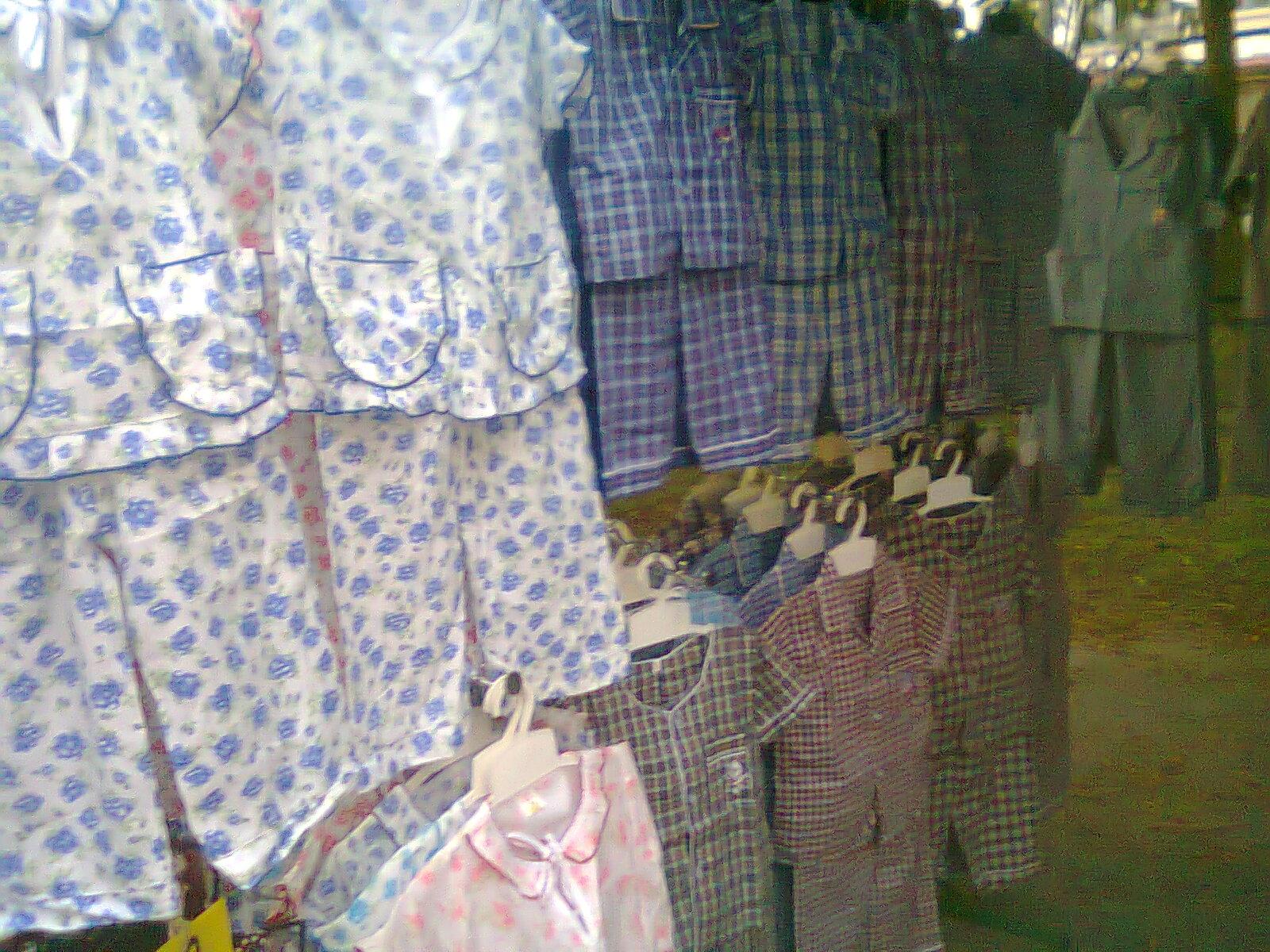 Pusat Borong Baju Tidur Kanak Kanak Lokasi Pasar Malam