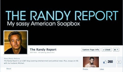https://www.facebook.com/TheRandyReport