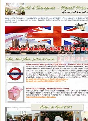 Newsletter Comité Entreprise