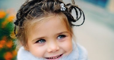 Little Girls Hairdos Tiny Twisted Braids