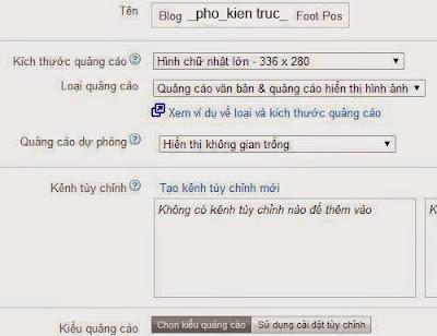 Cách chèn quảng cáo Google Adsense vào blogspot