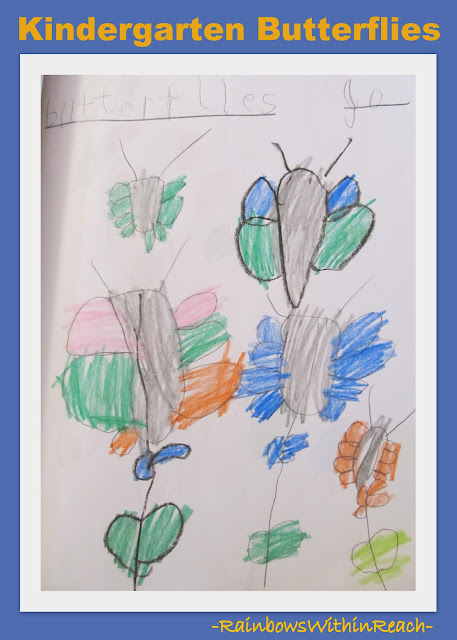 photo of: Kindergarten Journal of Spring Butterfly
