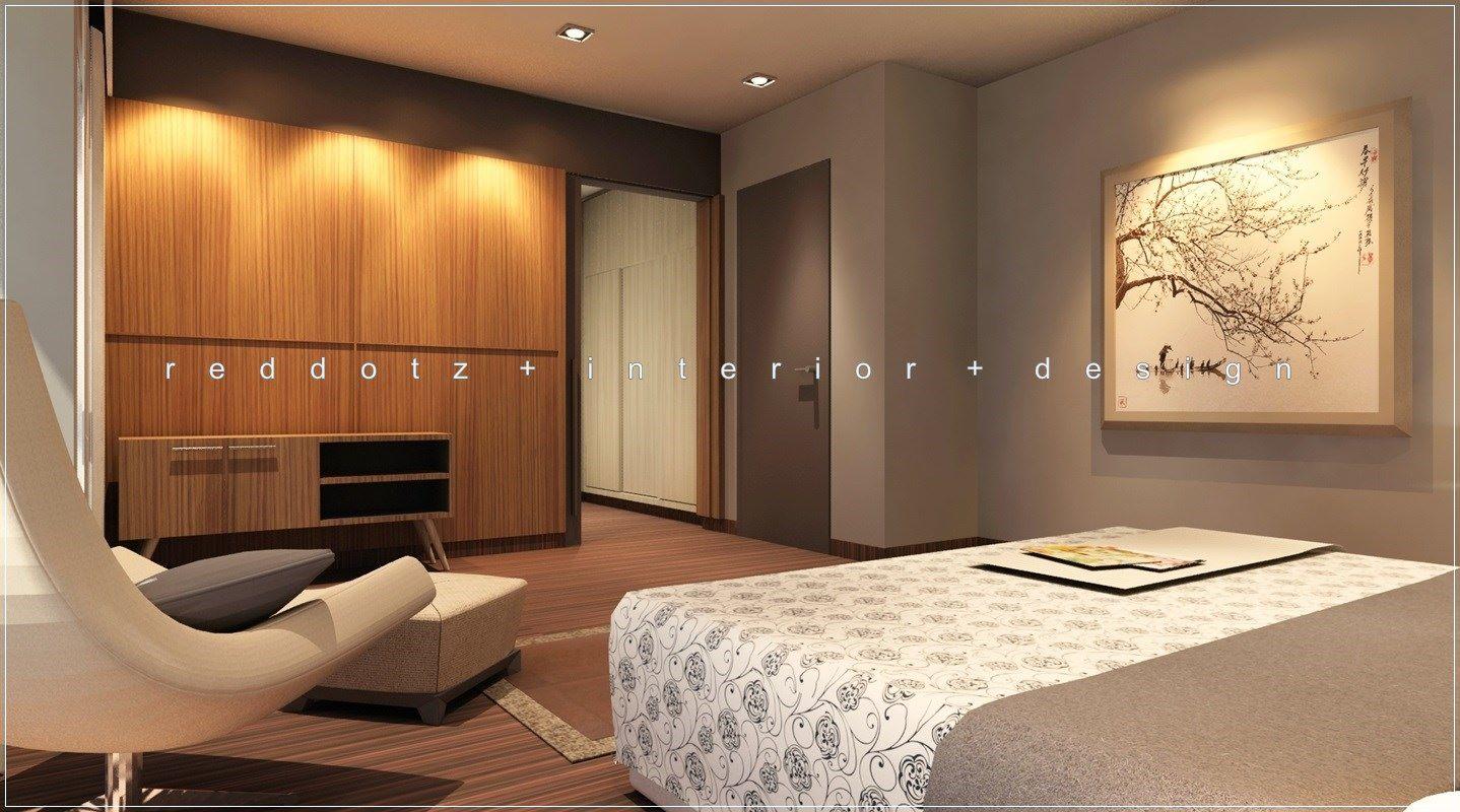 Reddotz Interior Design Malaysia Walk In Wardrobe Entry With Warm Essence Of Tropical Wood