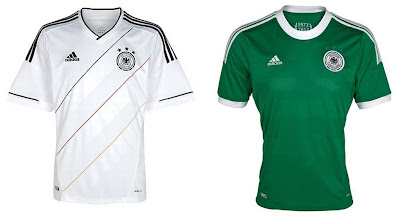 Germany Home+Away Euro 2012 Kits (Adidas)