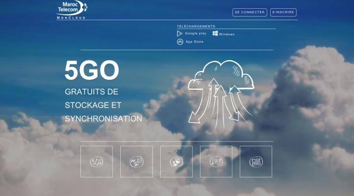 اتصالات المغرب تطلق خدمتها السحابية Mon Cloud
