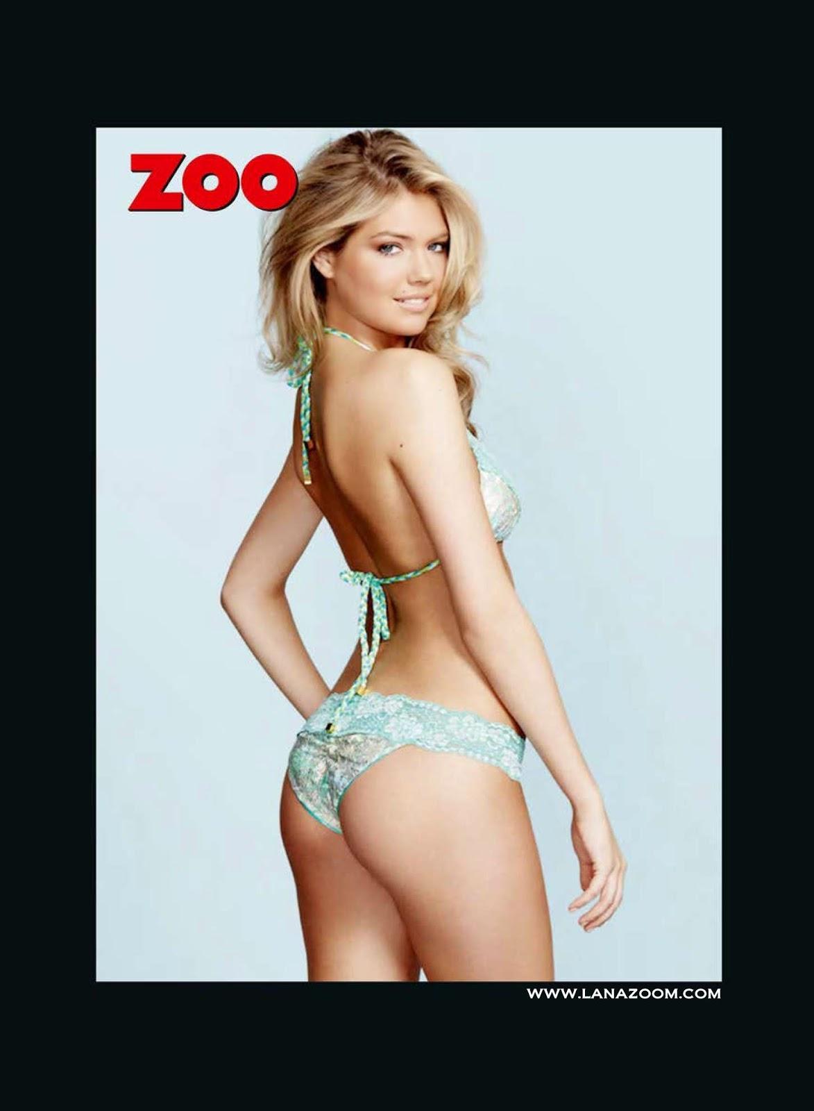 كيت ابتون في صور جميلة لمجلة ZOO UK - أبريل 2015