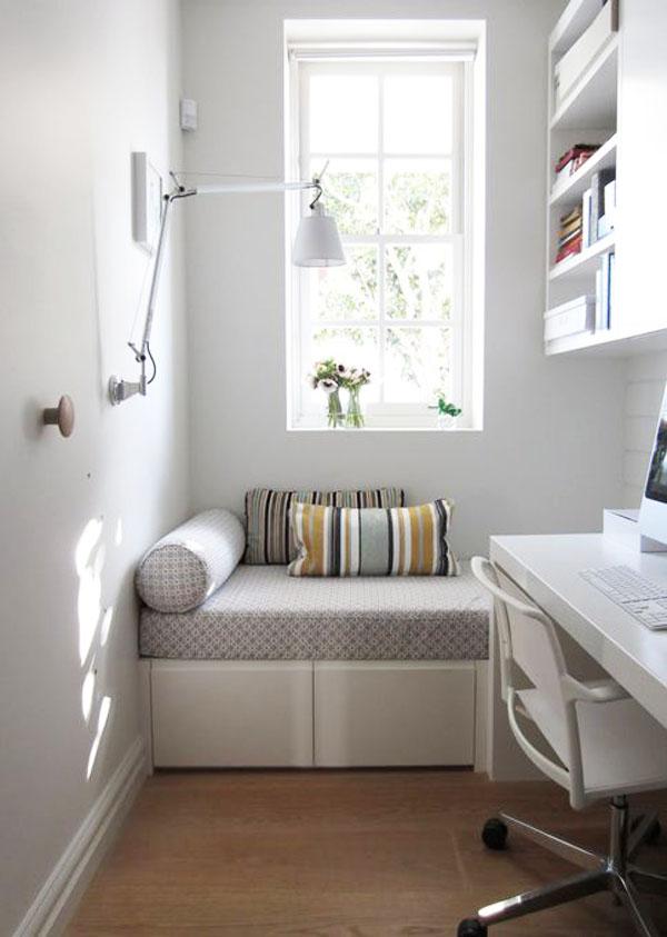 Dicas para decorar quartos pequenos papo de design - Dormitorios muy pequenos ...